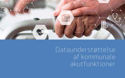 Dataunderstøttelse af kommunale akutfunktioner